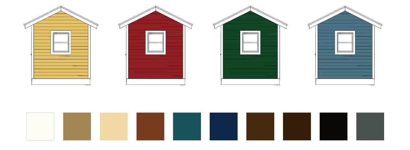 モコヤ 選べる外壁15色